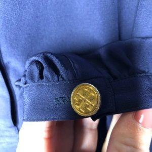 Tory Burch Tops - Tory Burch Navy Silk Top Size: 6